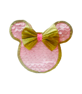 PIÑATA DE GOLD MINNIE