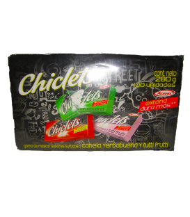 Chiclets Surtidos